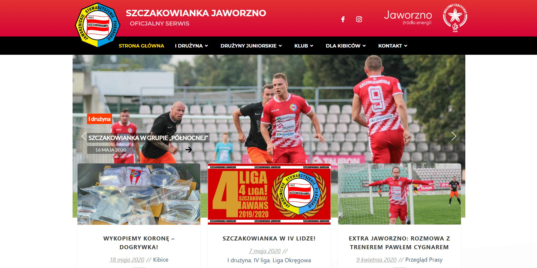Szczakowianka.pl w nowej odsłonie!